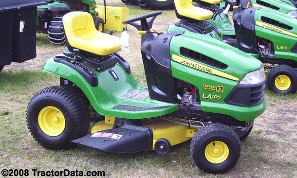 TractorData.com John Deere LA105 tractor photos information