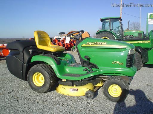 2002 John Deere LTR180 - Lawn & Garden Tractors - John Deere ...