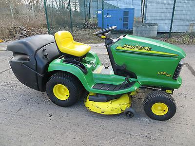 John Deere Ltr180 Ride On Tractor Mower,lawn Gardn Tractor,sit On ...