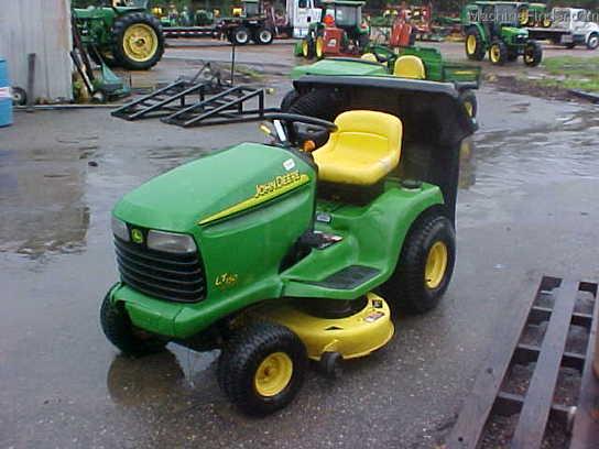 John Deere LT150 Lawn & Garden and Commercial Mowing - John Deere ...