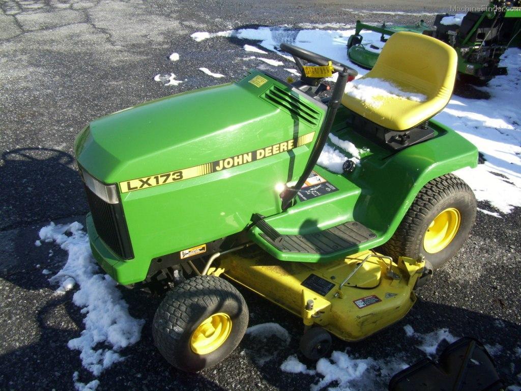 TractorData.com John Deere LX173 tractor photos information