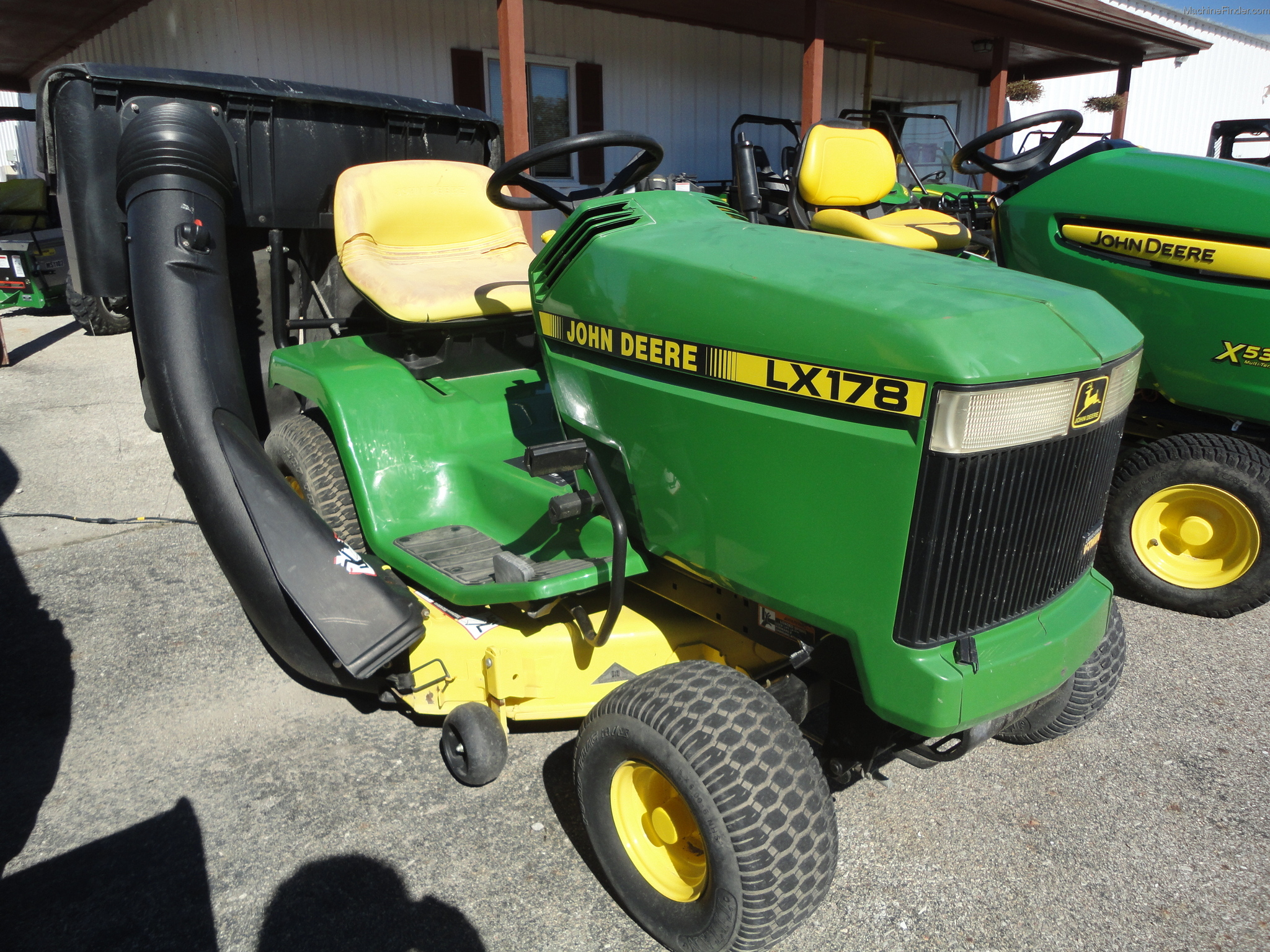 1998 John Deere LX178 Lawn & Garden and Commercial Mowing - John Deere ...