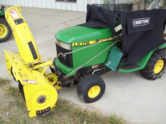 1997 John Deere LX178 Lawn & Garden and Commercial Mowing - John Deere ...