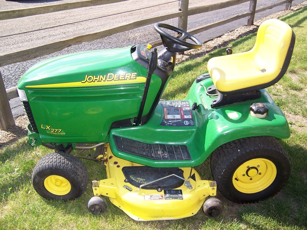 2002 John Deere LX277 Lawn & Garden and Commercial Mowing - John Deere ...
