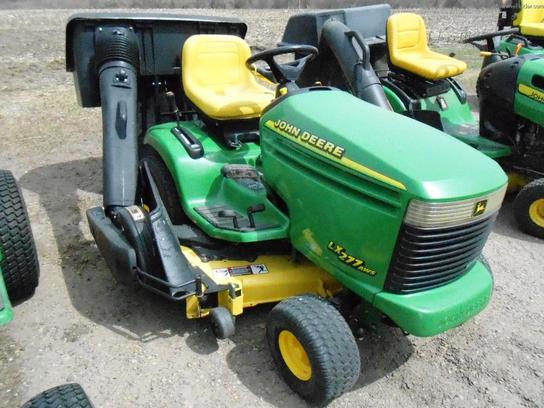 2000 John Deere LX277 Lawn & Garden and Commercial Mowing - John Deere ...