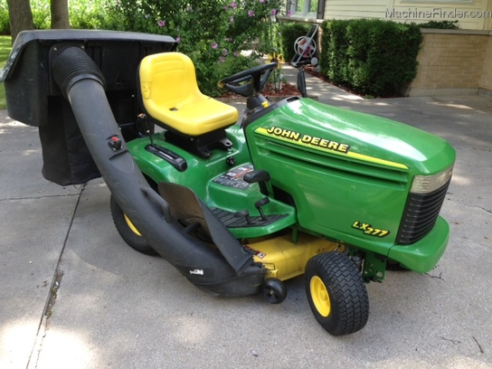 2001 John Deere LX277 Lawn & Garden and Commercial Mowing - John Deere ...