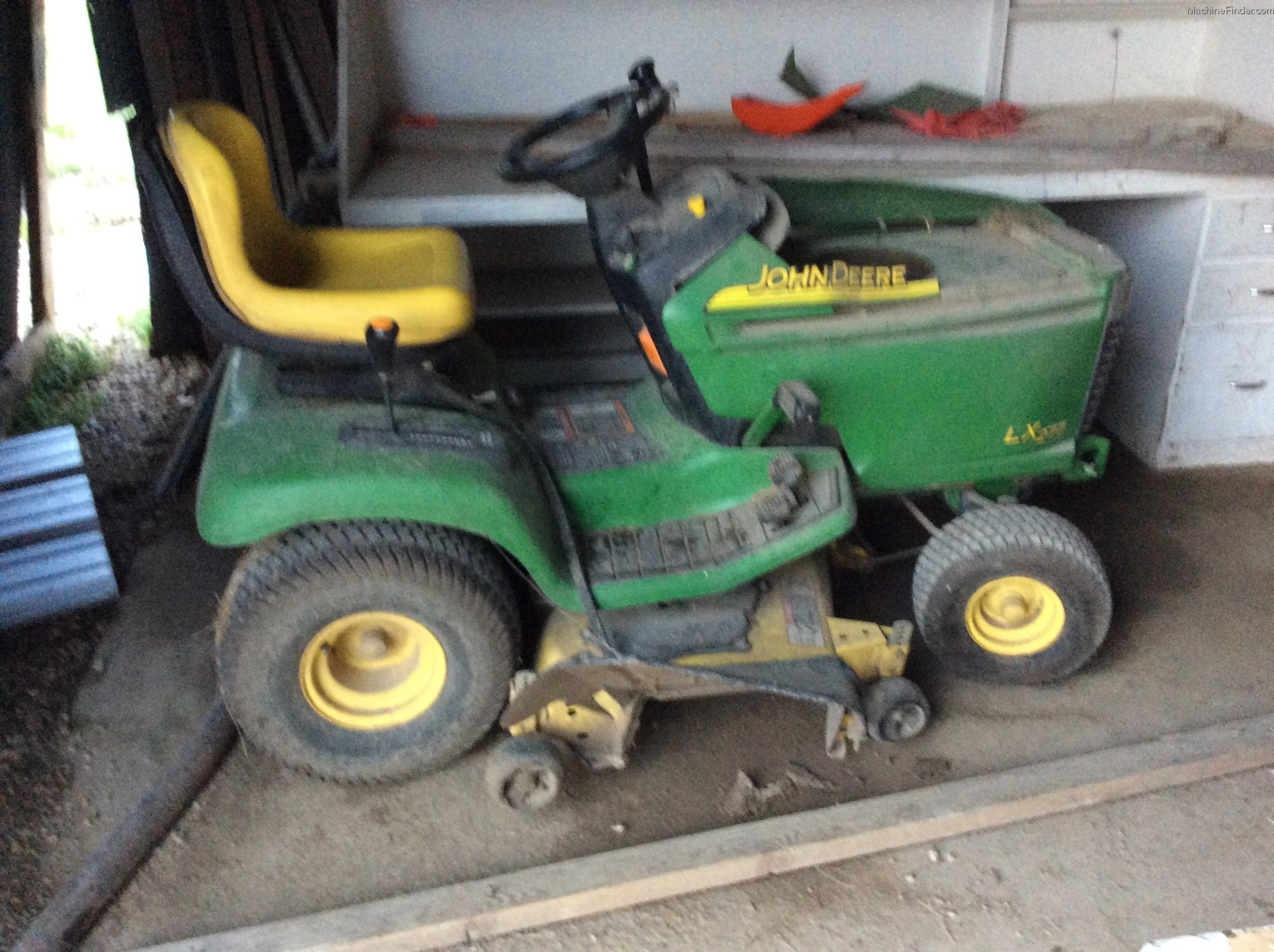 2003 John Deere LX277 Lawn & Garden and Commercial Mowing - John Deere ...