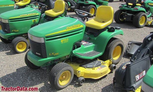 TractorData.com John Deere LX289 tractor photos information