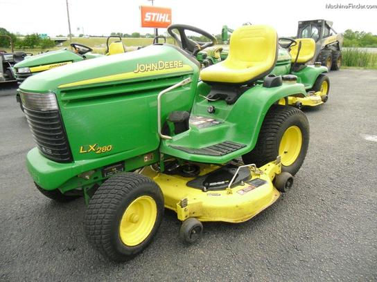 2005 John Deere LX280 Lawn & Garden and Commercial Mowing - John Deere ...