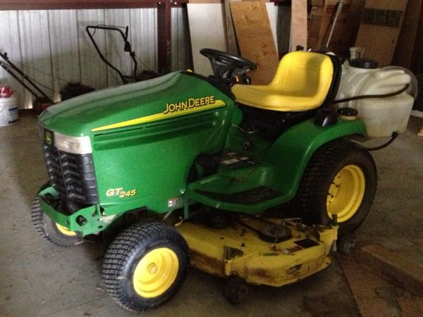 2008 John Deere GT245 Lawn Tractor Lawn Mower For Sale in Houma - $ ...