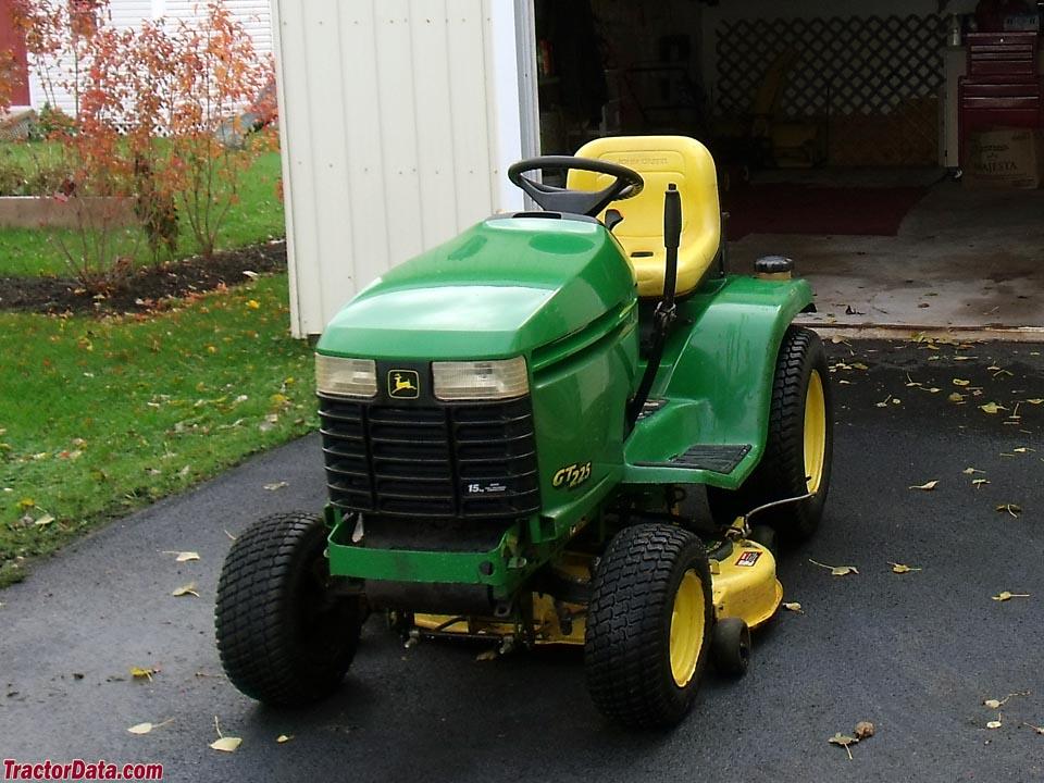 TractorData.com John Deere GT225 tractor photos information