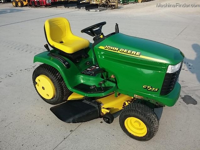 2000 John Deere GT225 Lawn & Garden and Commercial Mowing - John Deere ...