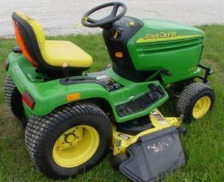 John Deere Scotts S2554 GT2554 Lawn Garden Tractor Parts Catalog ...
