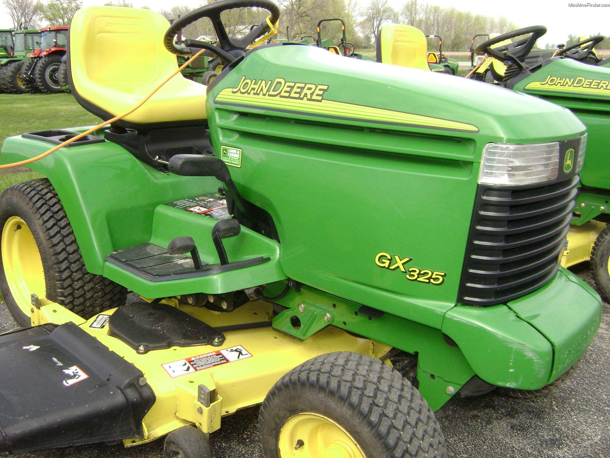 2003 John Deere GX325 Lawn & Garden and Commercial Mowing - John Deere ...