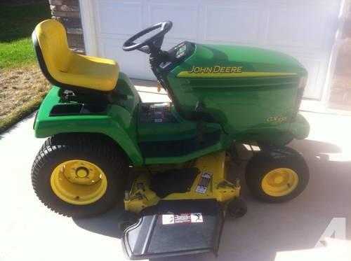 John Deere GX335 Lawn Tractor for Sale in Edford, Illinois Classified ...