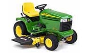 TractorData.com John Deere GX255 tractor information