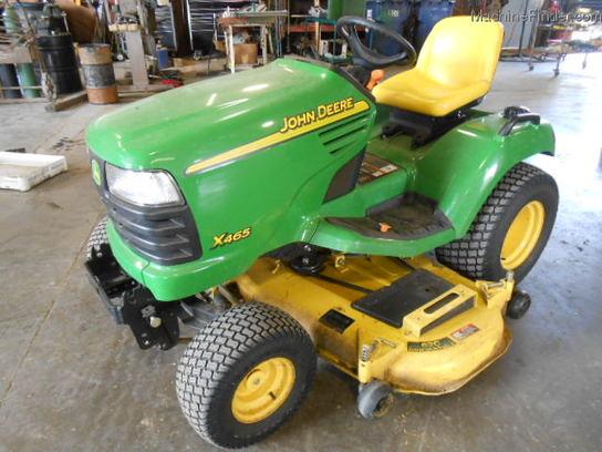2002 John Deere X465 Lawn & Garden and Commercial Mowing - John Deere ...