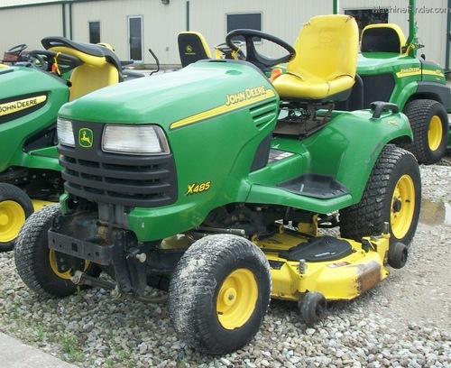2003 John Deere X485 Lawn & Garden and Commercial Mowing - John Deere ...