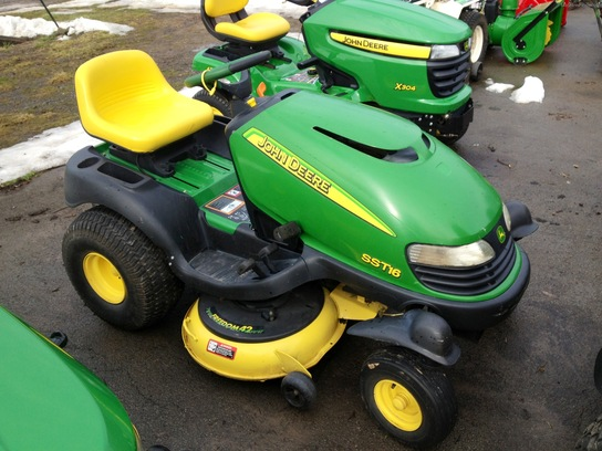 2001 John Deere SST16 Lawn & Garden and Commercial Mowing - John Deere ...
