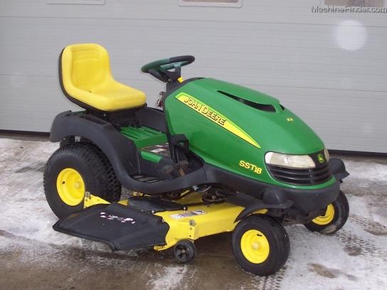 2001 John Deere SST18 SpinSteer tractor with 48