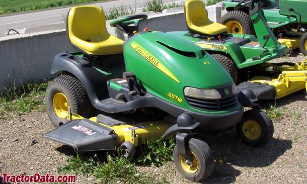 TractorData.com John Deere SST18 tractor photos information