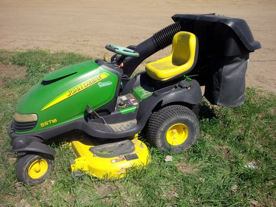 2001 John Deere SST18 Lawn & Garden and Commercial Mowing - John Deere ...