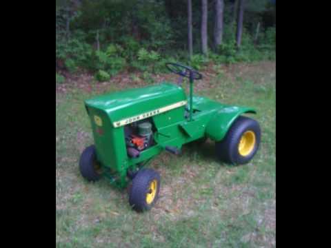 john deere model 60 lawn tractor - YouTube