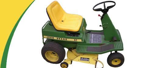 John Deere 57 Lawn Mower Parts
