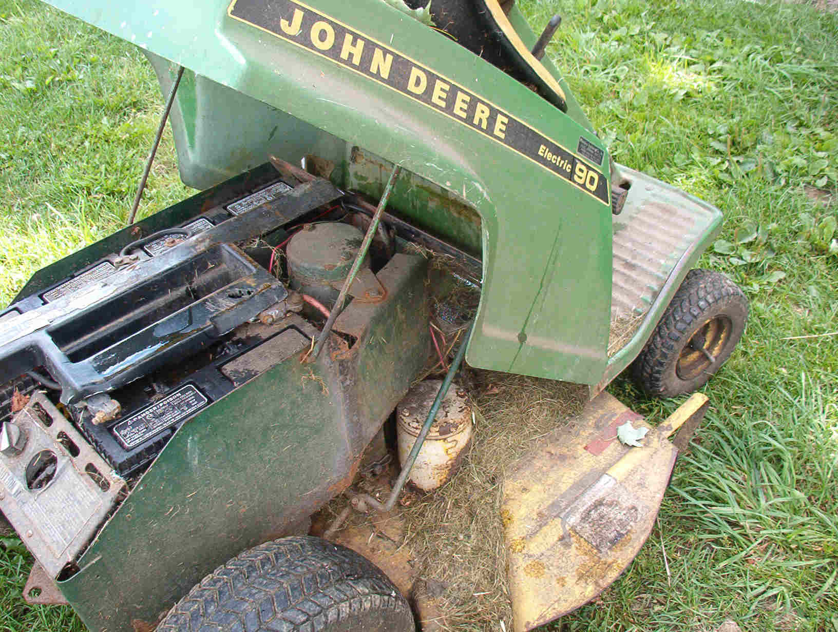 Electric Tractors, Mowers, Blowers, Tillers, etc.