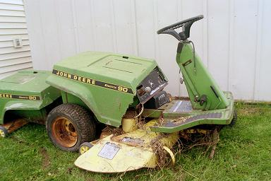 Electric Lawn Mowers and Electric Tractors - Homesteading ...