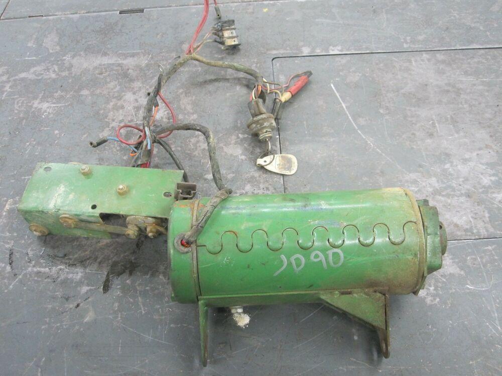 JOHN DEERE 90 96 36 VOLT ELECTRIC RIDING MOWER TRACTION ...