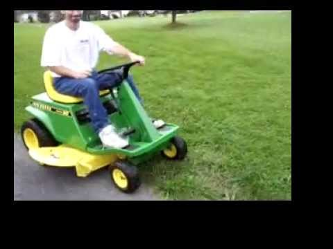 1973 John Deere Electric 90 lawn tractor - YouTube