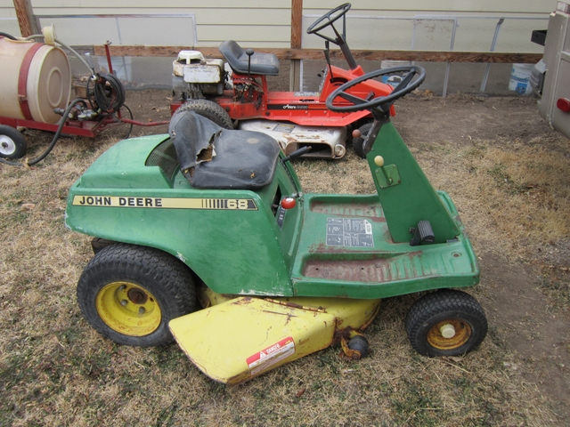 john deere 68 riding mower - Nex-Tech Classifieds
