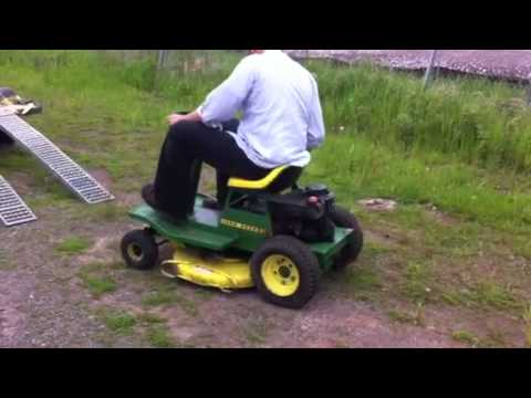 John Deere 65 riding lawn mower running - www.bidsuperior ...