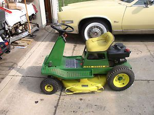 Scotts by John Deere 46572x8 Riding Lawn Mower Deck 48 ...