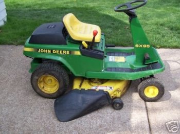 John Deere SX95 Repower