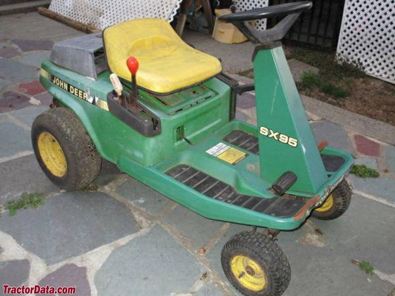 TractorData.com John Deere SX95 tractor photos information