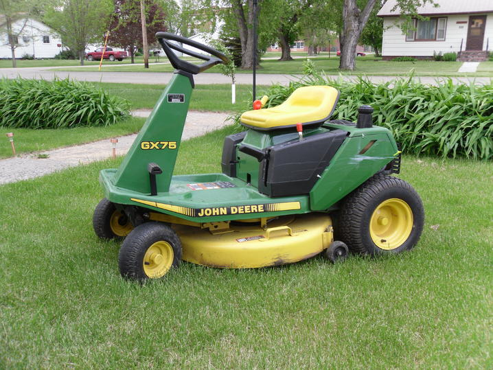 John Deere GX75 - John Deere Tractor Forum - GTtalk