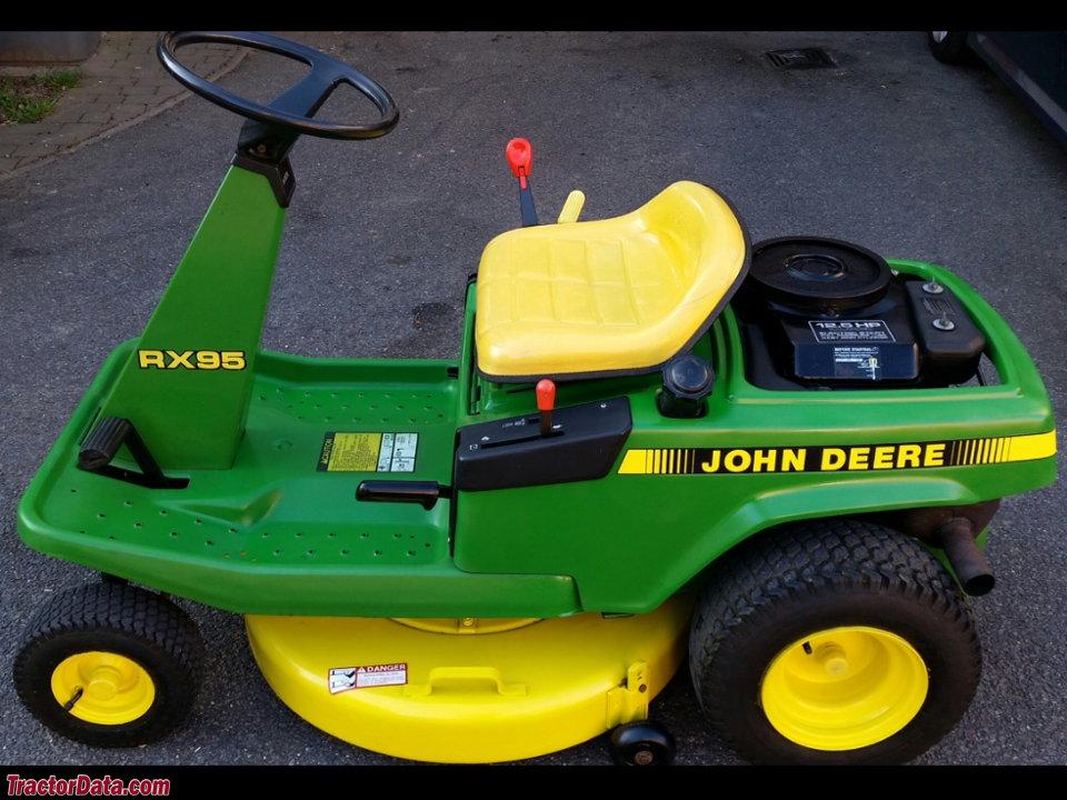 TractorData.com John Deere RX95 tractor photos information