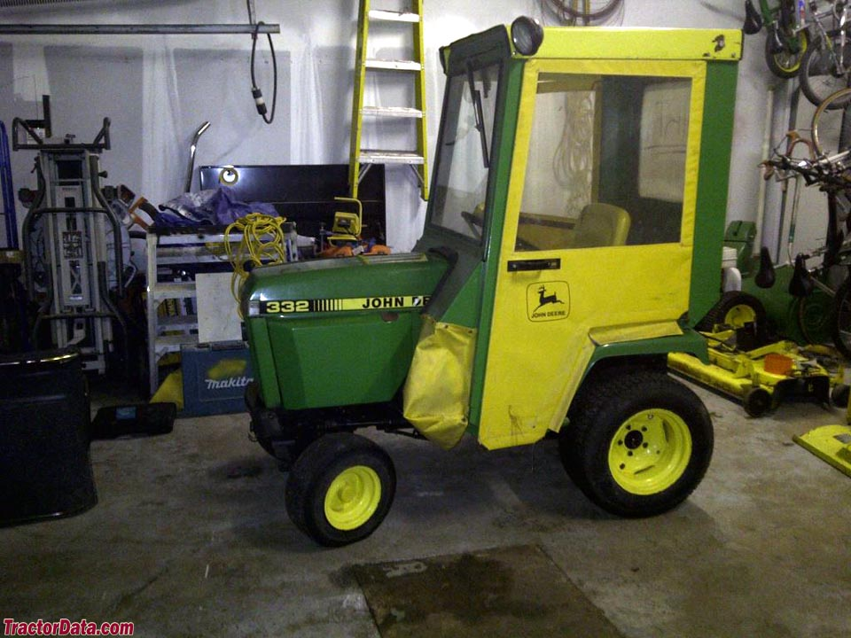 TractorData.com John Deere 332 tractor photos information
