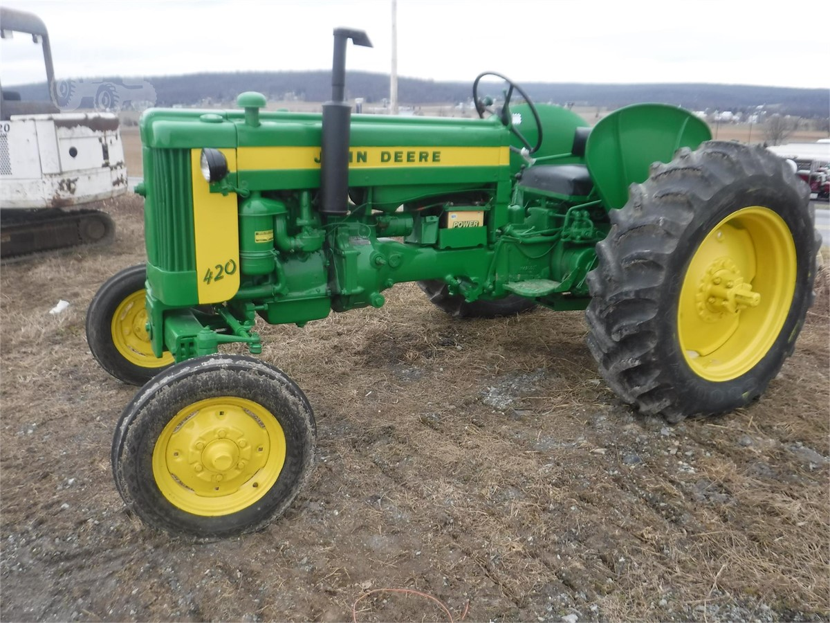 1958 JOHN DEERE 420 For Sale In Broadway, Virginia ...