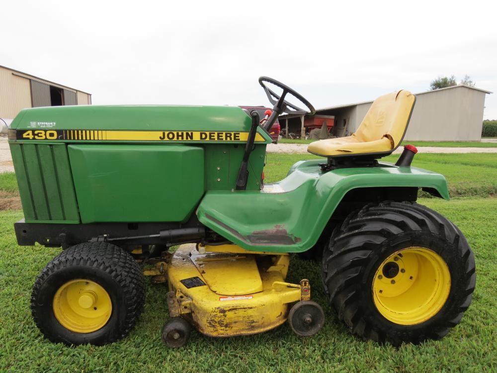 1985 JOHN DEERE 430 WITH BAG UNIT - Tractors - GTtalk