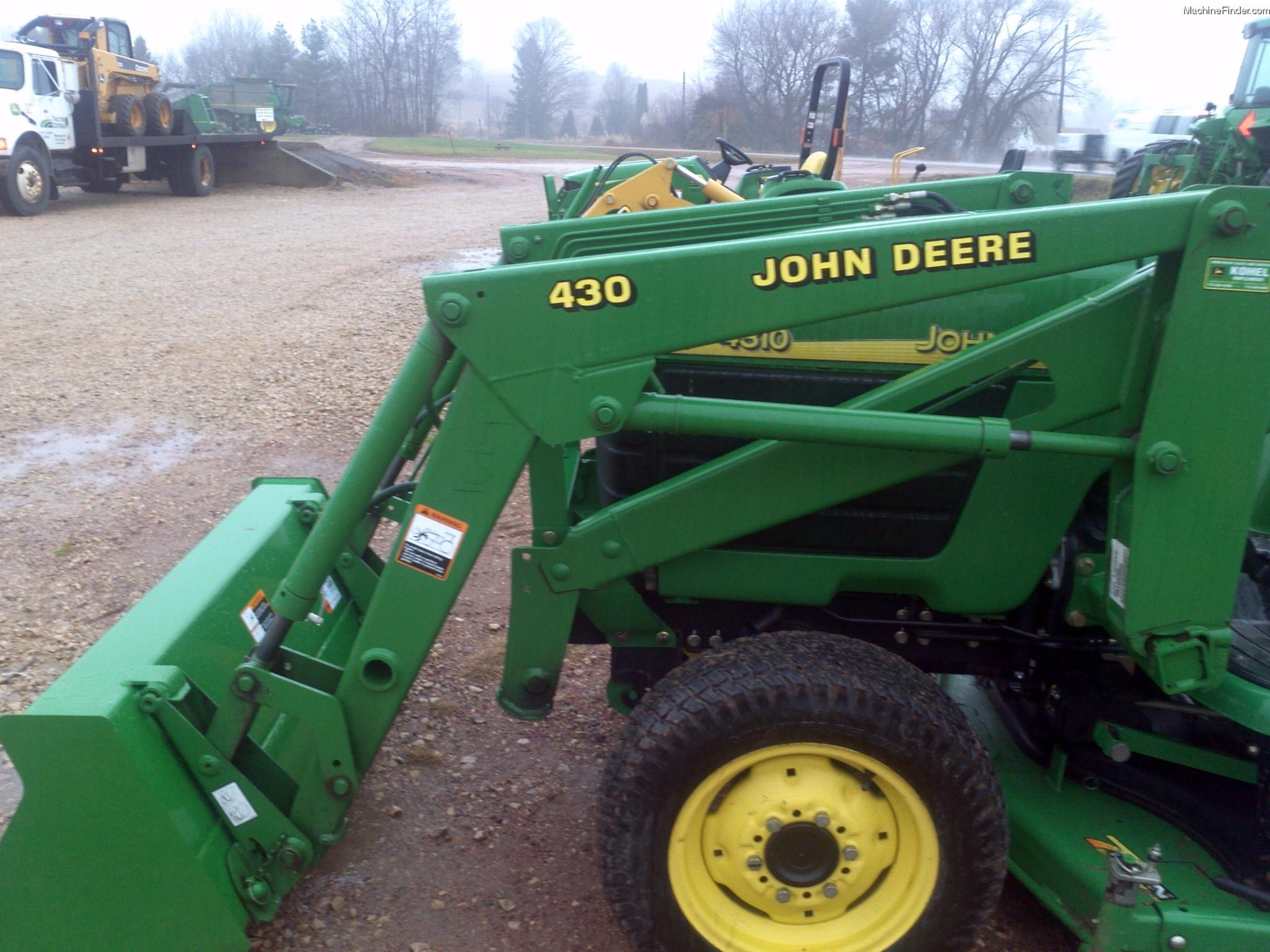 2000 John Deere 430 Tractor Loaders - John Deere MachineFinder