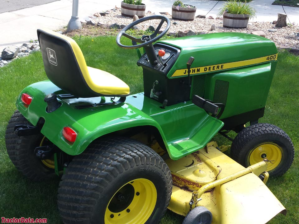TractorData.com John Deere 400 tractor photos information