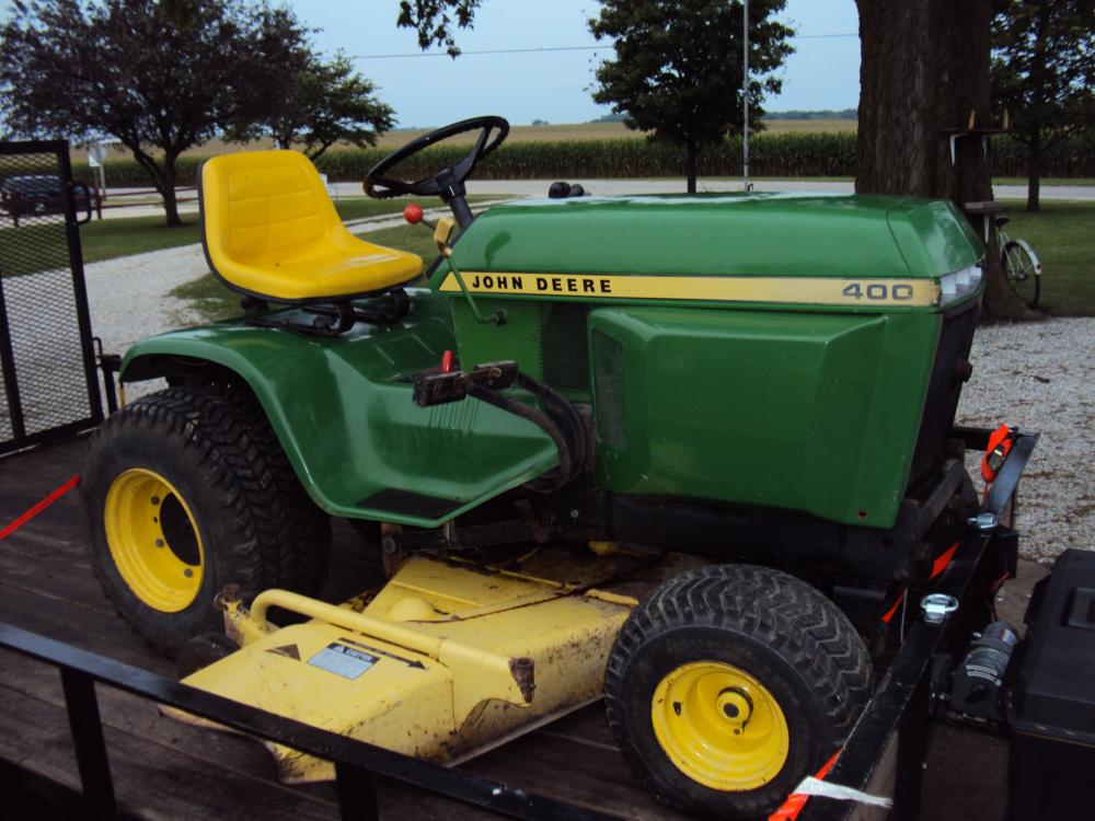 John Deere 400 - John Deere Tractor Forum - GTtalk