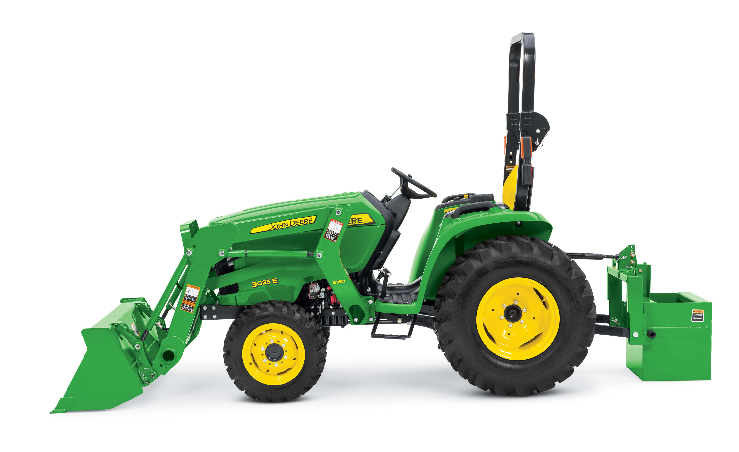 John Deere Introduces Latest Addition to 3E Series Compact Utility ...