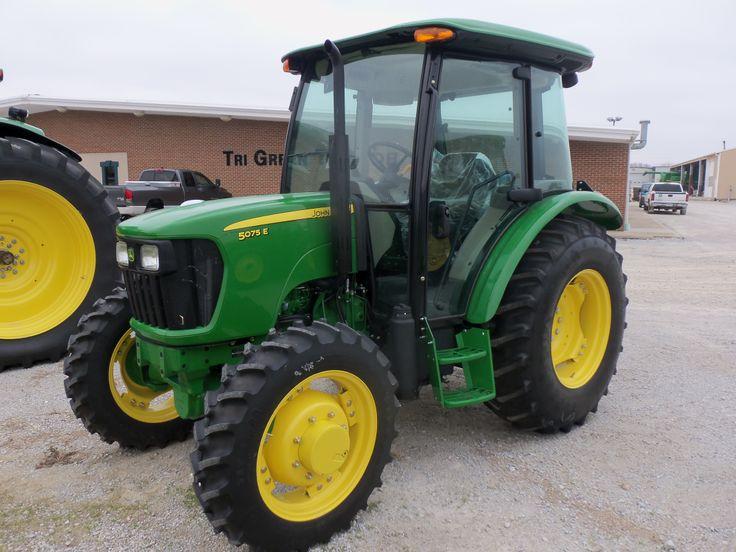 John Deere 5075E Cab tractor | A FARMERS TOY | Pinterest