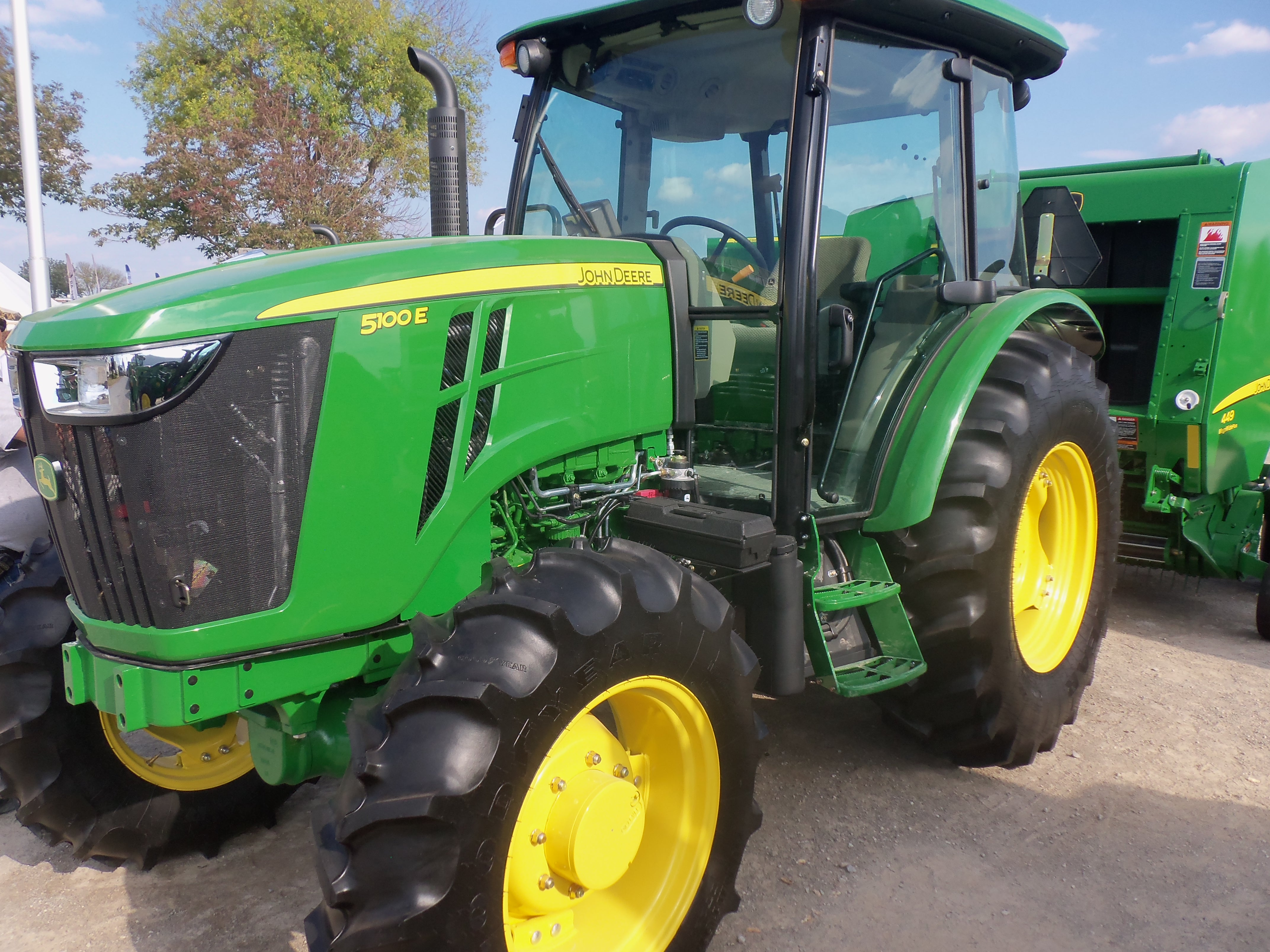 John Deere 5100E | John Deere equipment | Pinterest