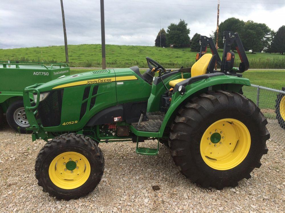 2015 JOHN DEERE 4052R Compact Tractor 51.5 HP 4WD *** # 130396 | eBay