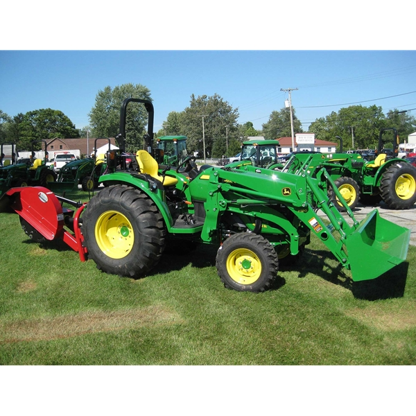 HOME Compact Utility Tractors John Deere 4052R Compact Utility Tractor